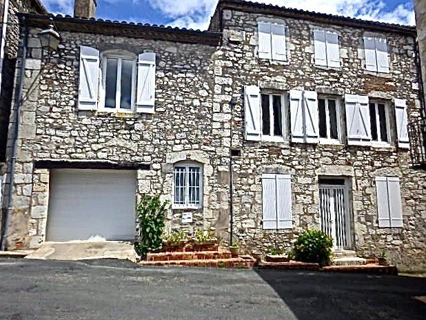 village house with terrace