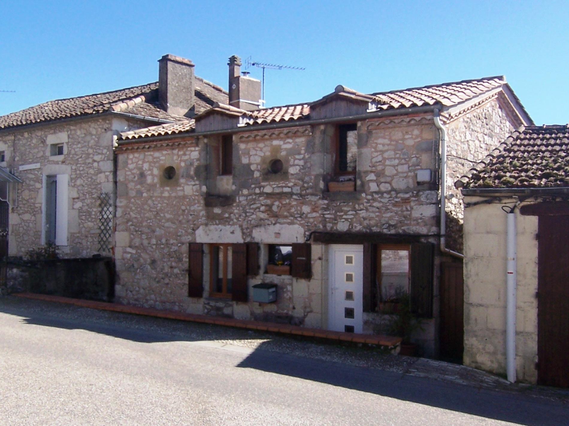 Maison de bastide avec jardin et vue panoramique